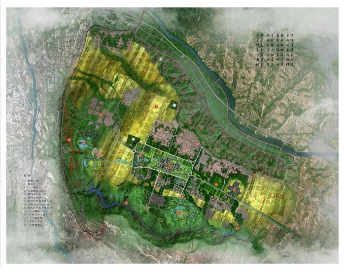 城市设计-成果展示-西安建大城市规划设计研究院