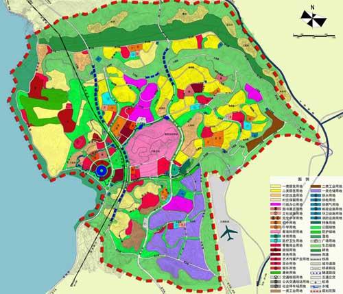 大理市海东新城中心片区控制性详细规划